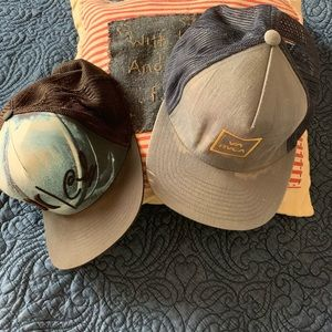 Hurley and RVCA TWO  caps 🧢 🧢